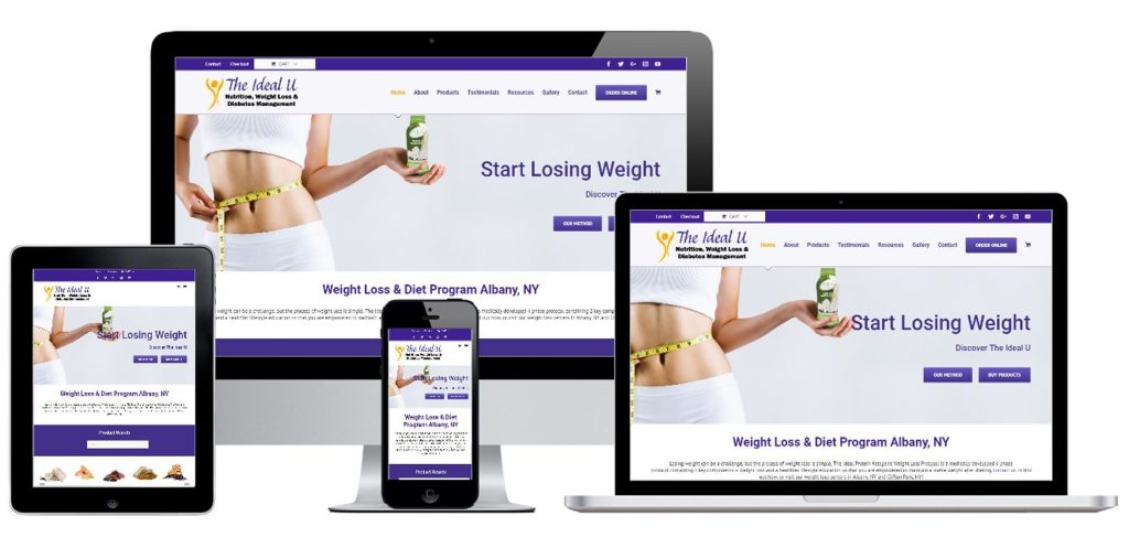 Weight Loss & Diet WordPress Website Development Albany, NY