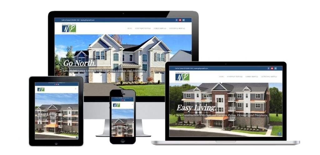 Residential Real Estate Builder WordPress Website Development Albany, NY
